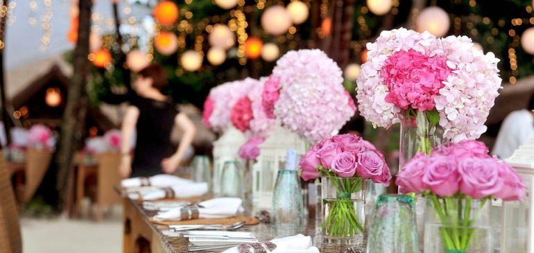 Les règles d'or pour l'organisation d'une réception de mariage